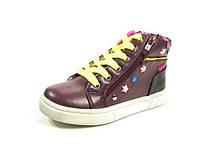 Детские ботинки Clibee TS-P-70 Бордовый (Размеры: 27-32)