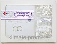 Набор для творчества Santi Свадебные открытки 20 шт 10х7 см, 952055