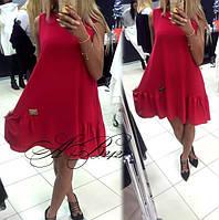 """Стильное молодежное платье мини """" Франция """" Dress Code"""