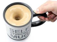 Чашка мешалка self stirring mug , оригинальный пордарок