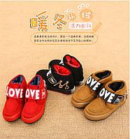 Стильные детские ботинки, унисекс, фото 1