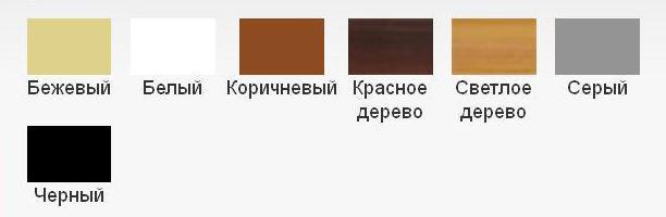 Выбрать цвет вентиляционной решетки Вентс МВ 100