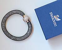 Браслет женский Swarovski Solo серый, цена браслет
