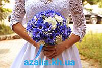Хризантема в свадебном букете
