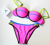 Купальник женский раздельный Monaco розовый, магазин купальников