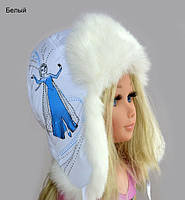 Детская зимняя шапка Эльза, фото 1