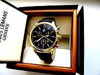 Мужские кварцевые часы BMW Classic gold