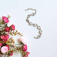 Женский браслет на руку Essia белый, магазин бижутерии
