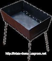 Советы по использованию и уходу за разборным мангалом чемодан ТУРИСТ