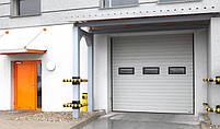 Промышленные секционные автоматические ворота Alutech в Киеве, фото 4