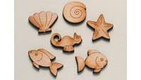 Фигурные украшения «Море»