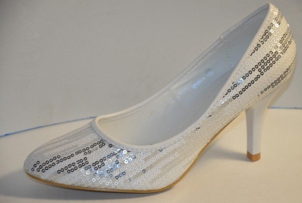 Белые свадебные туфли на каблуку  продажа 4e3a7102679e9