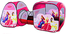 """Детская палатка с переходом SG7015-1 """"Принцессы Диснея»"""