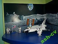 Космический шатл NASA +  космонавты