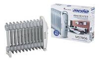 Масляный обогреватель Mesko MS 7806 1200W масляный радиатор