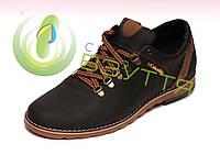 Удобные мужские кожаные туфли 42 размер