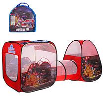 """Детская игровая палатка тоннель SG7015-4 """"Need for speed"""""""