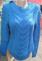Свитер вязанный женский (44-48)Турция, доста вка по Украине