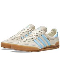 Оригинальные  кроссовки Adidas Jeans Chalk White & Clear Sky