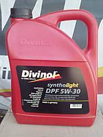 Моторное масло 5w30  Divinol dpf  канистра 5л