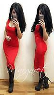 Платье женское Ангел красное , магазин платьев