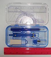 Готовальня 688 двухэтажная, мех.карандаш, типа Maped (8 предметов)
