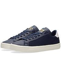Оригинальные  кроссовки Adidas CourtVantage Collegiate Navy & White