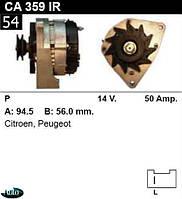 Генератор Citroën / Peugeot 50Амр.CA359IR