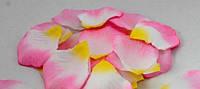 Лепестки роз свадебные (бело-розовые)