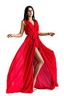 Платье летнее Моника красное , женская одежда