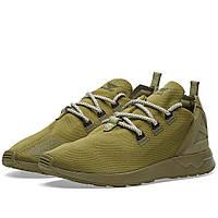 Оригинальные  кроссовки Adidas ZX Flux ADV X Olive Cargo & Black