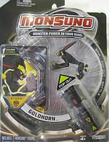 Стартовый набор Monsuno S.T.O.R.M. GOLDHORM (1-Packs) W4 34437-42912-MO