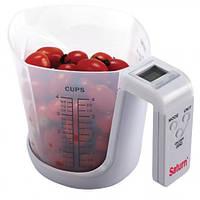 Весы электронные кухонные чаша SATURN ST-KS7800 ,  настольные весы