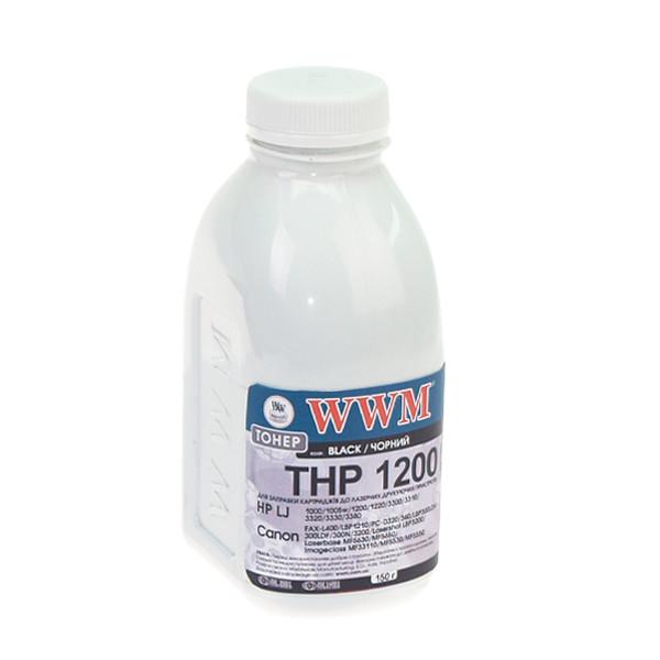 Тонер WWM для HP LJ 1200/1220 бутль 150г (TB54)