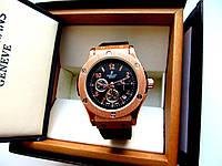 Часы наручные женские Hublot черное золото  , недорогие часы