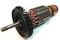 Якорь болгарка Bosch GWS 20-230 оригинал 1604011296 ( 205*54 посадка 10мм резьба), фото 2