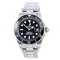 Часы Rolex Submariner 3831 silver/black (Механика). Replica, фото 1