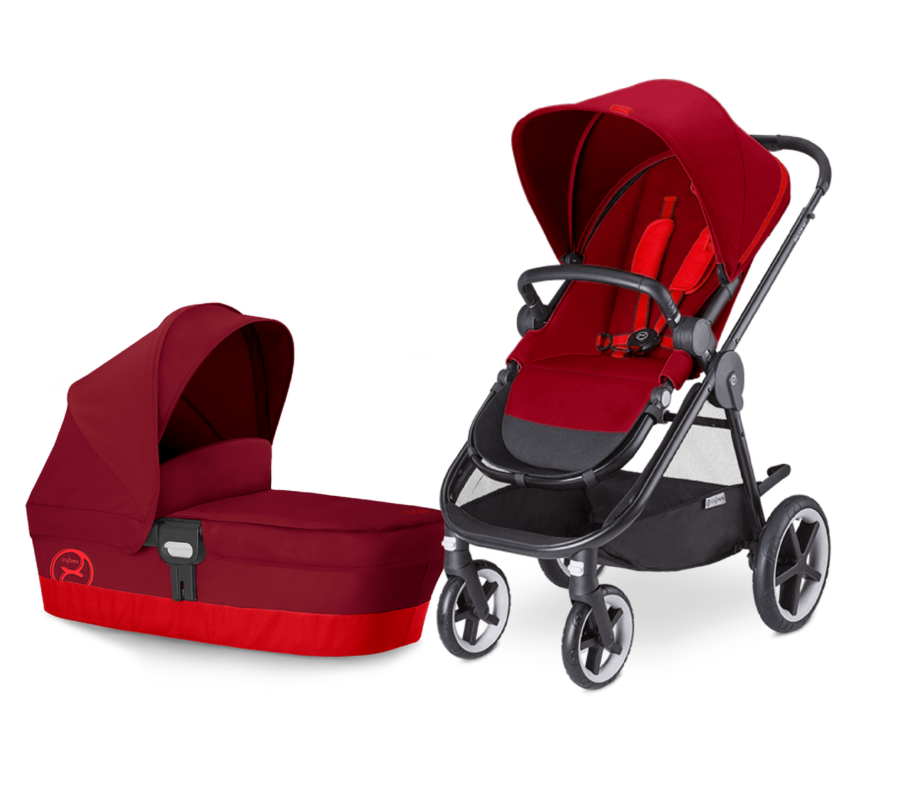 Cybex Balios M 2016 цвет Hot and Spicy
