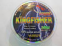 Леска для рыбалки с сечением 0,18мм Winner 30м