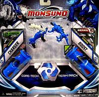 Игровой набор Monsuno Core-Tech CHRGER и BOOST (Сombat 2-Packs) W5 34440-42937-MO