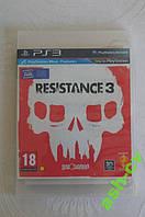 Диск для PS3 игра RESISTANCE 3