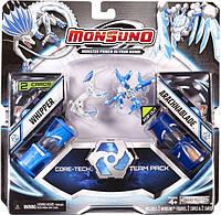 Игровой набор Monsuno Core-Tech LOCK и BIOBLAZE (Сombat 2-Packs) W5 34440-42936-MO