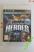 Диск для PS3  игра PLAYSTATION MOVE HEROES
