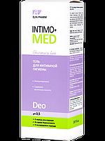 Гель для интимной гигиены Deo Intimo + med, 200 мл