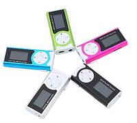 MP3 плеер c дисплеем ,фонариком + клипка!