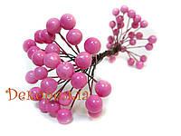 Калина глянцевая, лакованая, светло-розовая