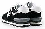 Кроссовки черные в стиле New Balance 520, фото 2