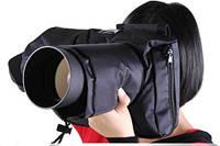 Защита (чехол) для зеркальных камер от дождя, снега и холода + шумозащита для Canon Nikon тип №3, фото 1