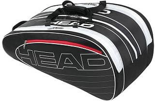 Теннисная сумка на 10 ракеток  283404 Elite Monstercombi  BKWH HEAD