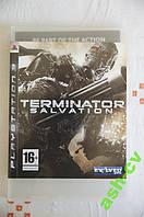 Диск для PS3  игра TERMINATOR Salvation (трещина)